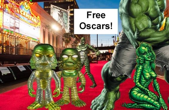 Reptilienii si Atlantii protesteaza la Premii Oscar