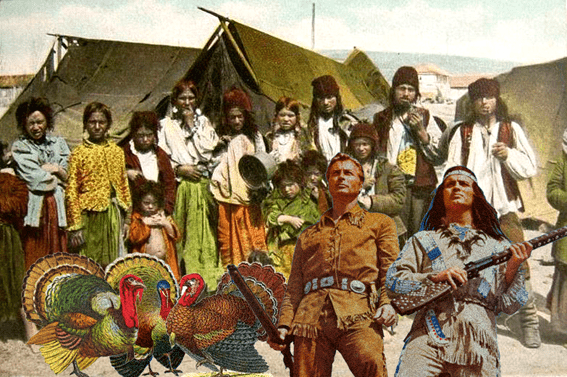tigani America curcan Thanksgiving Winnetou