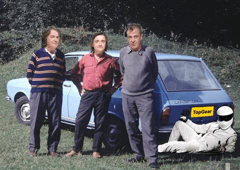 TopGear Clarkson Dacia