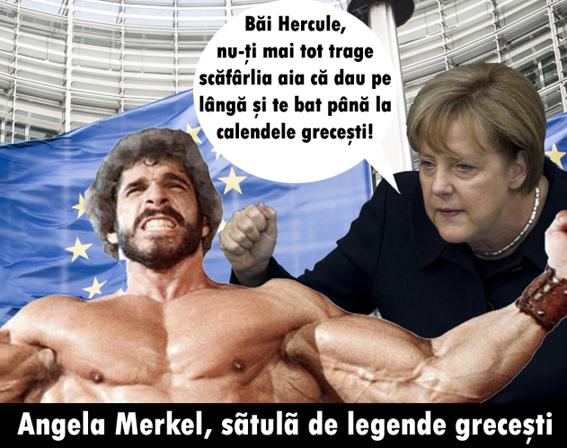 Hercule Merkel Grecia
