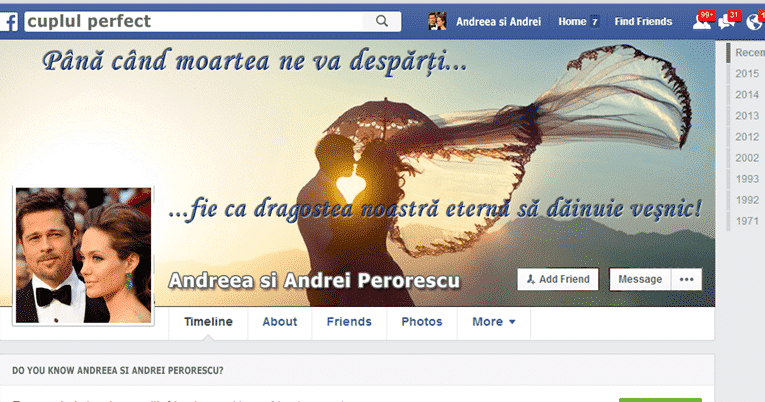 cuplu perfect facebook nestire