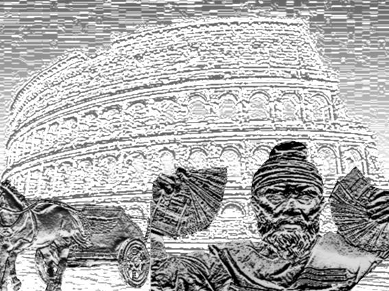 Spartacus primul român in Italia