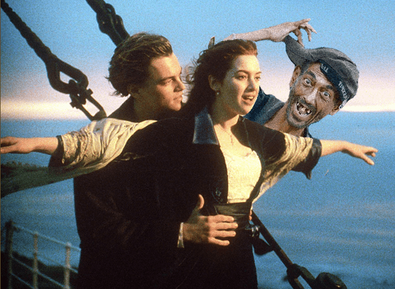 actor roman Titanic Hollywood