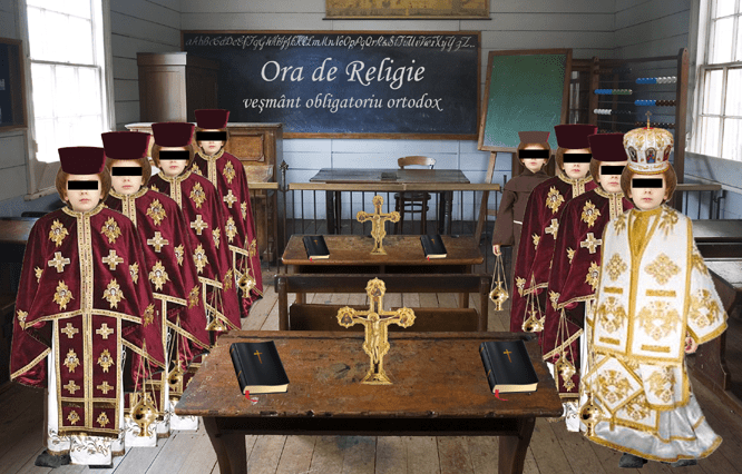 ora de religie vesmant obligatoriu