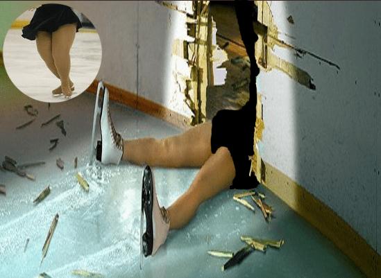 patinatoare romanca sparge gheata patinaj