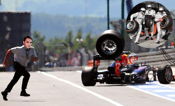 Victor Ponta pilot Forza Rossa Formula 1